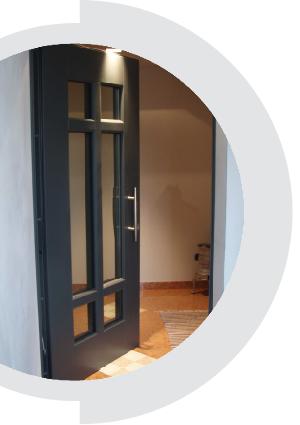 Porte blindate a ferrara e bologna serramenti tosi - Porte ingresso vetro ...